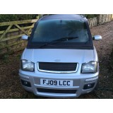 Microcar mc2 2009 finished in silver , 4 seater only 14k miles